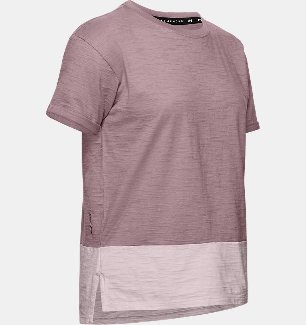 Damen Kurzarm-Oberteil aus Charged Cotton®